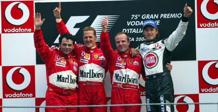 Terugblik 2000-2004 deel 1: De dominantie van Schumacher en Ferrari