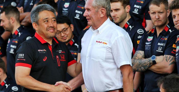 Honda in gesprek met Red Bull over samenwerking na 2021