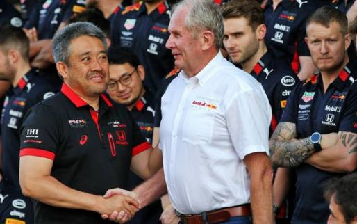 Honda and Verstappen join Horner: