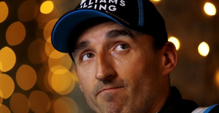 Kubica opnieuw de Formule 1-auto in