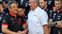 "Image: Honda and Verstappen join Horner: ""No penalties this year"""
