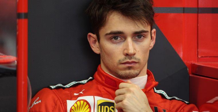 Leclerc geeft verklaring voor lage topsnelheid: We gaan sneller door de bochten