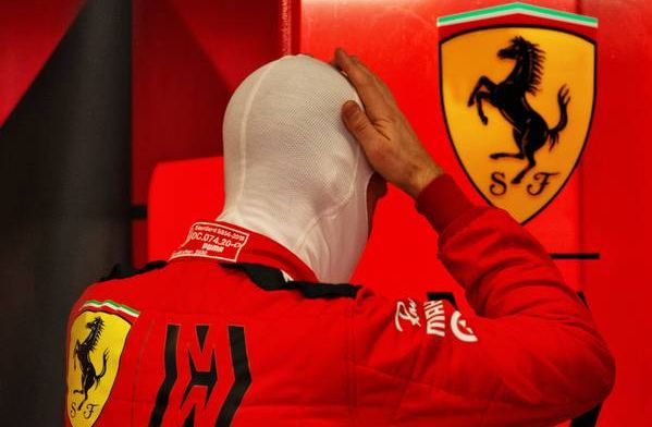 Watch: Vettel has a crazy spin to bring out first red flag
