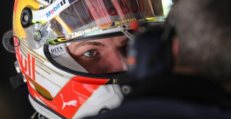 Een moeizaam begin van de tweede testweek voor Red Bull Racing en Verstappen