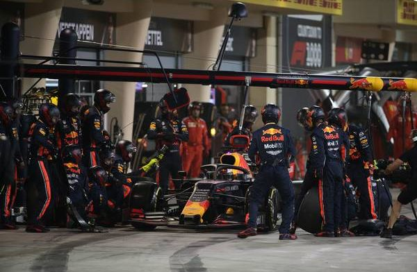 This time it's a Red Bull innovation Mechanics no longer have to sweat