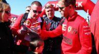 Afbeelding: Vettel wil eens wat anders: ''Altijd maar diezelfde bochten''