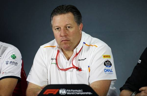 Brown is clear about the future: McLaren can beat Mercedes.