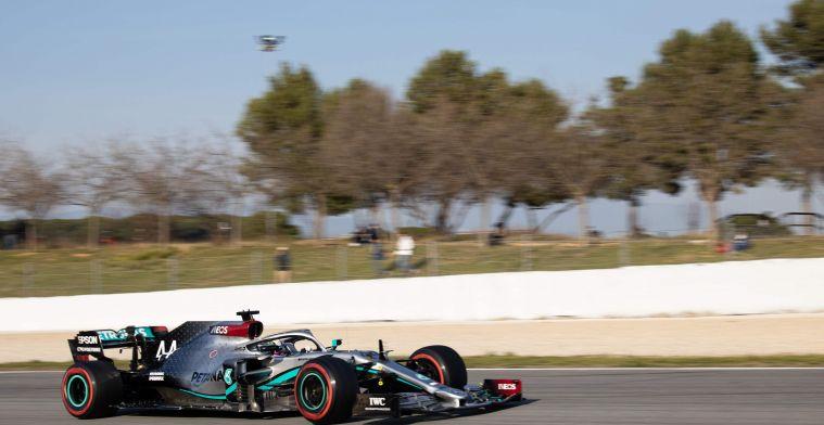 Door motorproblemen zal Mercedes vandaag niet meer de baan op komen