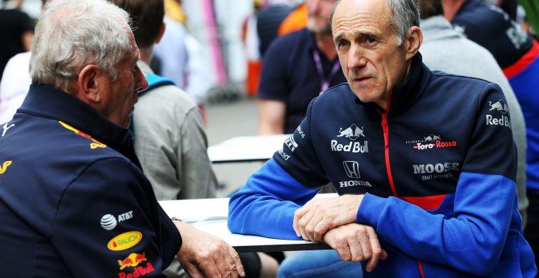 Tost over samenwerking met Red Bull: ''Waarom moeten wij alles zelf maken?''