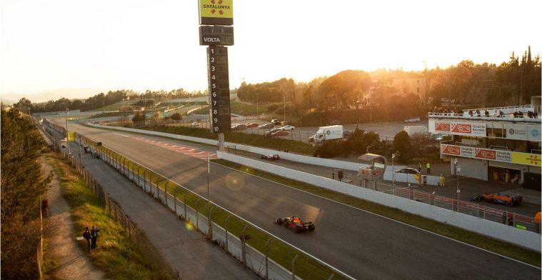 LIVE F1 Wintertest 17:15 | Bottas en Verstappen zetten scherpe tijden