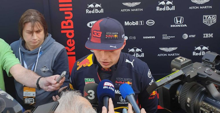 We couldn't run as much as we wanted but Max Verstappen happy with morning