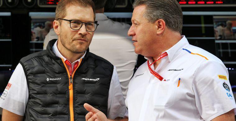 Brown is duidelijk over de toekomst: ''Wij kunnen Mercedes verslaan''