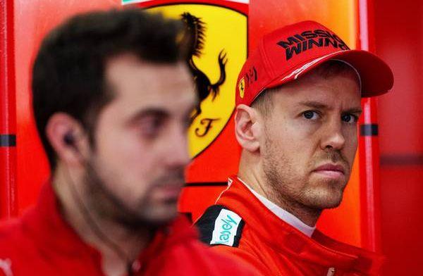 Vettel believes dirty air is a little bit worse in 2020 Ferrari F1 car