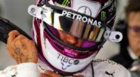 Afbeelding: Dit zie je niet vaak: Hamilton valt stil met zijn Mercedes in Barcelona!