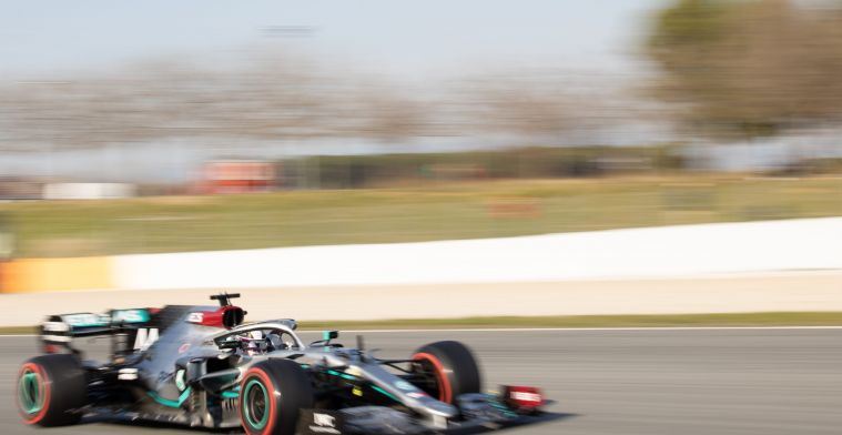 Mercedes gaat op vrijdag kwalificatieruns rijden op de zachte band