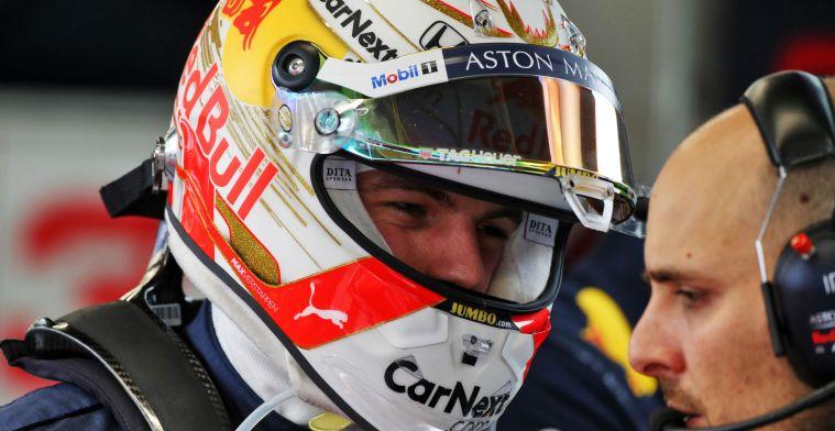 Verstappen pareert kritiek over 'nerveuze' RB16:Zij rijden niet met de auto