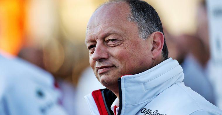 Vasseur sluit comeback Kubica bij Alfa Romeo niet uit