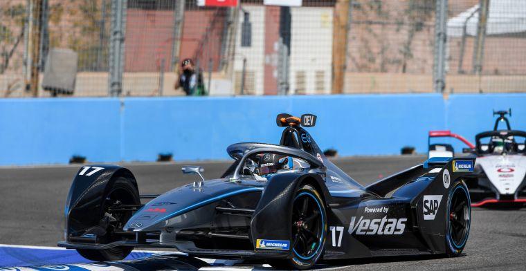 Samenvatting Formule E Marrakech | De Vries ontvangt penalty in spannende race