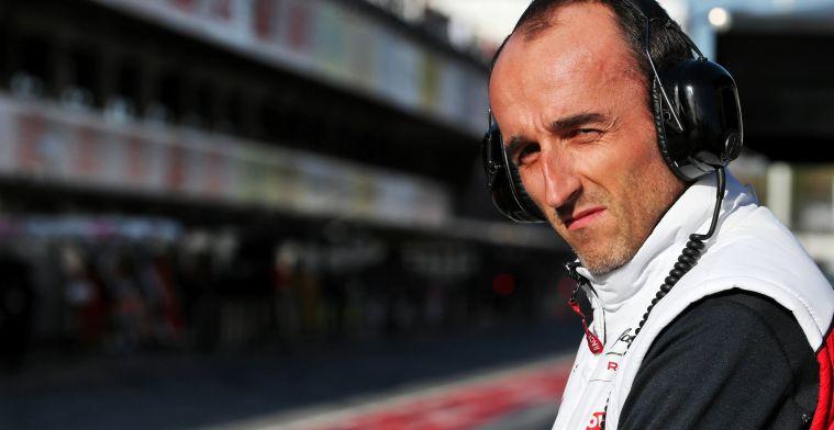 Kubica over Williams: Ik ben blij dat ze een stap vooruit gemaakt hebben