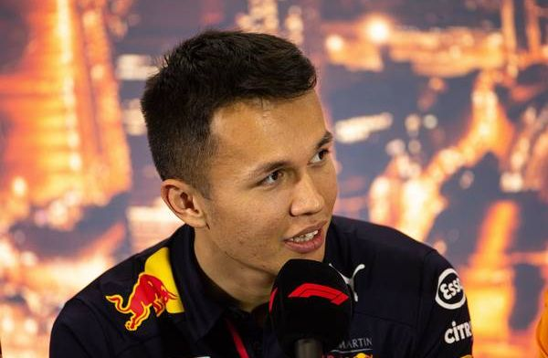 Alex Albon had F1 loyalties elsewhere: My first word was Ferrari