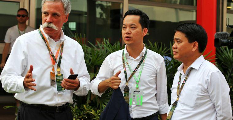 Gerucht: 'Vietnam gaat binnenkort uitstellen F1-race bekendmaken'