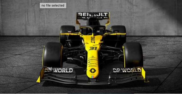 Renault presents new title sponsor at the unveiling of livery for 2020 F1 season