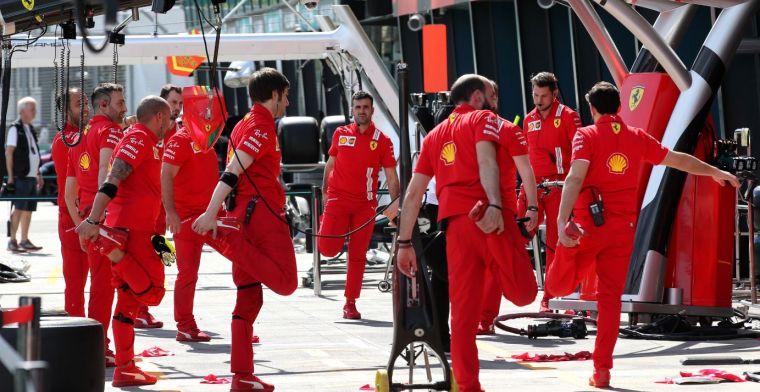Alle Ferrari F1-teamleden die in Australië zijn geweest zitten in zelfisolatie