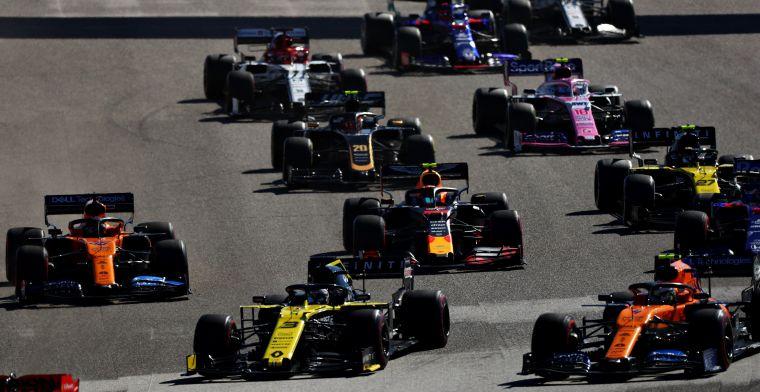 OVERZICHT: Zoveel besmettingen heeft elk land waar F1 Grand Prix gehouden wordt
