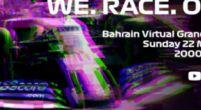 Afbeelding: LIVESTREAM: De Virtuele Grand Prix van Bahrein