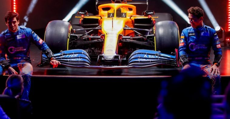 McLaren the only team allowed to change chassis for 2021 season