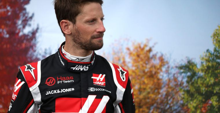 Grosjean couldn't sleep: ''Vettel was already on his way to the airport''