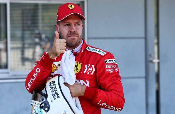 'Ferrari biedt Vettel nieuw contract aan maar met verlaagd salaris'