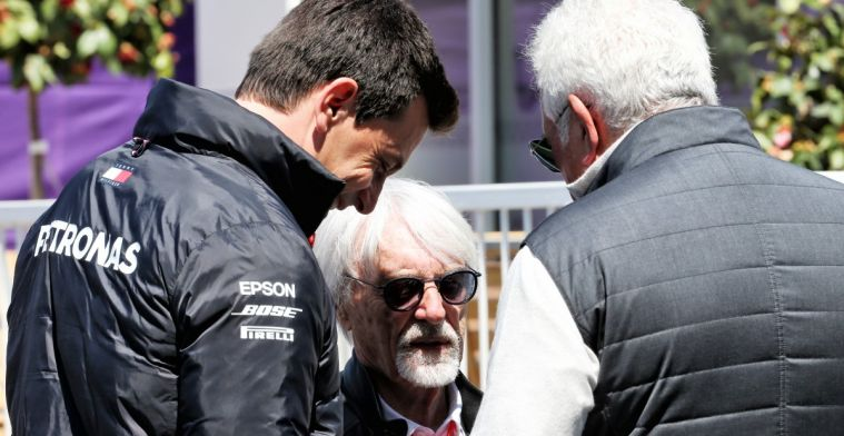 Ecclestone would give up F1 season 2020: All conversations about it should stop.