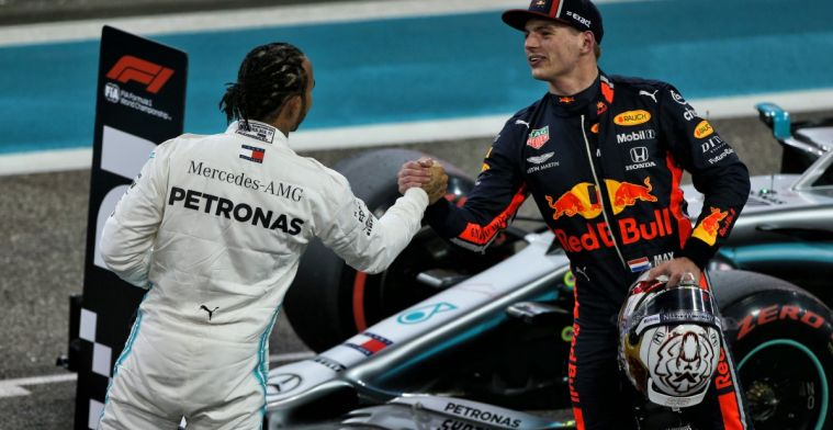 'Hamilton cannot stand up to the aggression of Verstappen'
