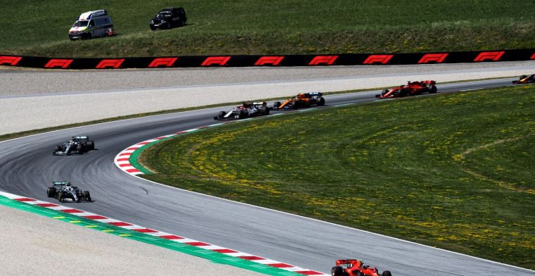 Red Bull Ring goes completely locked