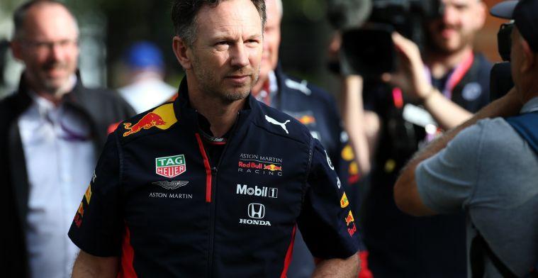 Horner houdt Ferrari in de gaten: ''Daar gaan wij nog op terug komen''