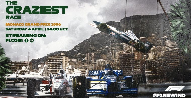 Rewatch the most bizarre Grand Prix of Monaco this weekend