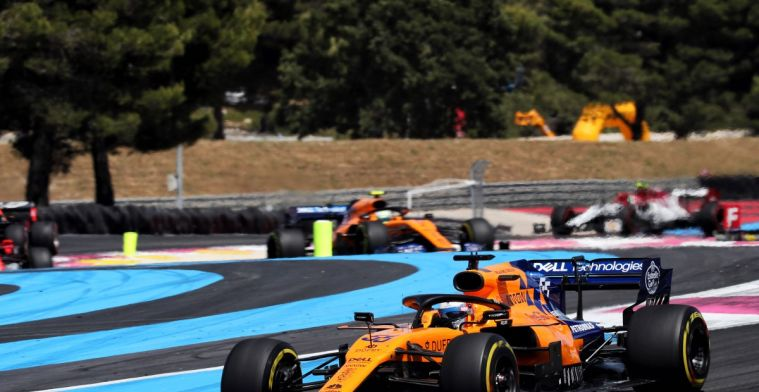 Norris knows why he had fewer points than Sainz last year