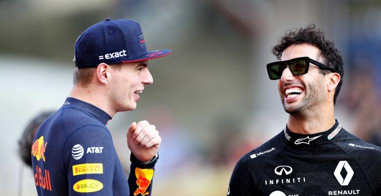 Ricciardo gaat Verstappen niet achterna: Heb hier buggy's waarmee ik kan racen