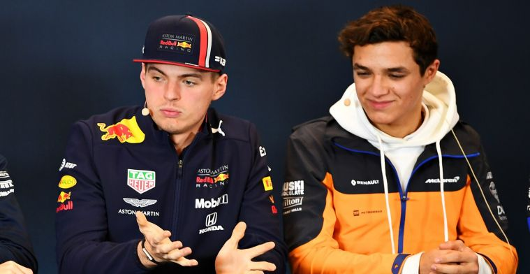 Norris about absent Verstappen: He's absolutely just scared