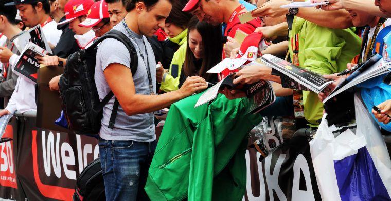 Massa over contract bij Ferrari: Ik moest het voor iedereen geheim houden
