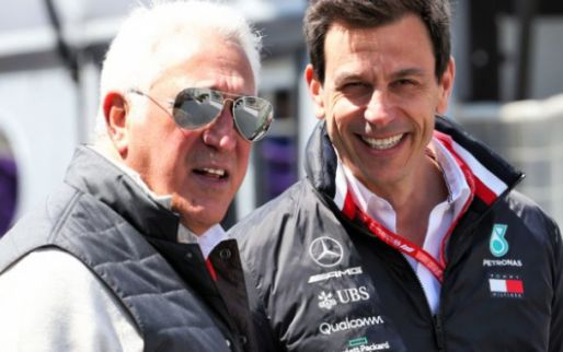 Wolff raises eyebrows: