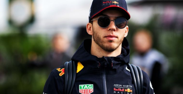 Gasly decided to stay longer in Australia and is now bored in Dubai