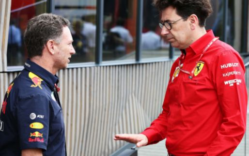 Binotto defends position Ferrari and Red Bull: