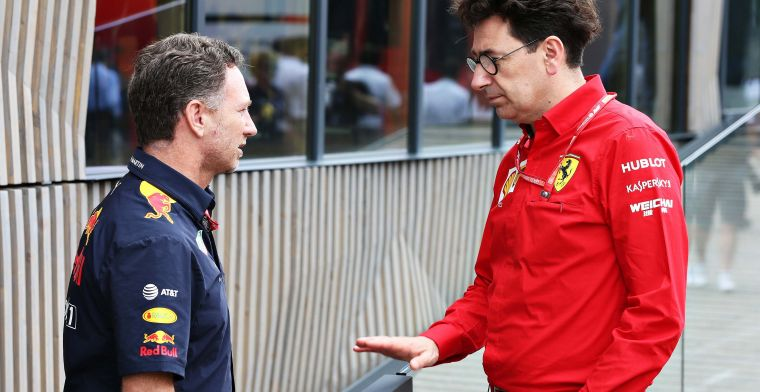 Binotto defends position Ferrari and Red Bull: Should retain DNA of F1