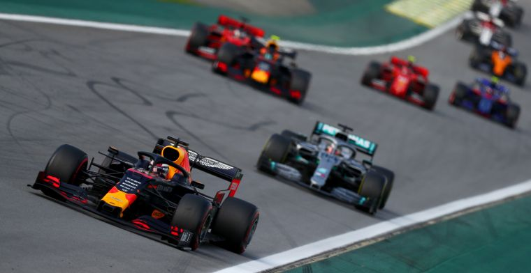 Red Bull is a lot less powerful without the mighty Mercedes behind them