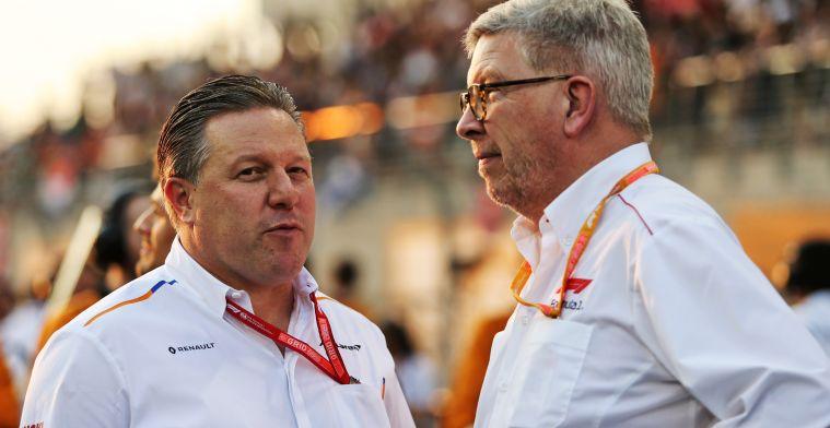Brown: 'Het coronavirus maakt iedereen in de Formule 1 eindelijk eens wakker''