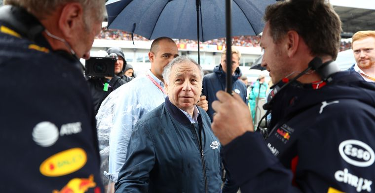 FIA comes out: Wants to finish next F1 season in 2020