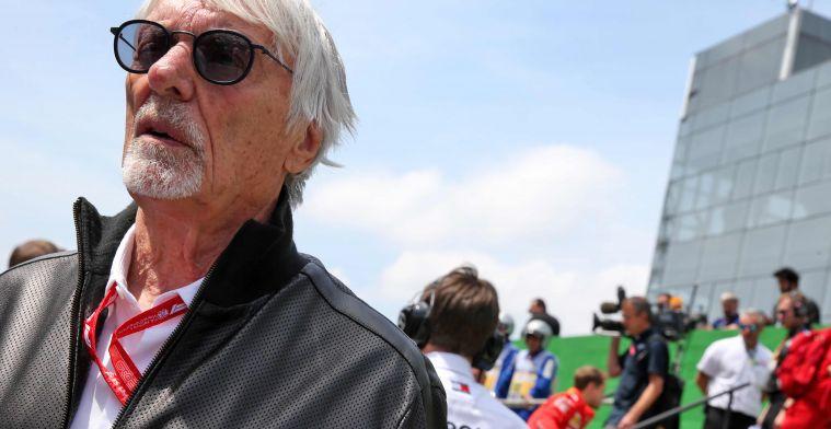 Ecclestone criticizes Ferrari: If Hamilton comes, they'd bury him with it