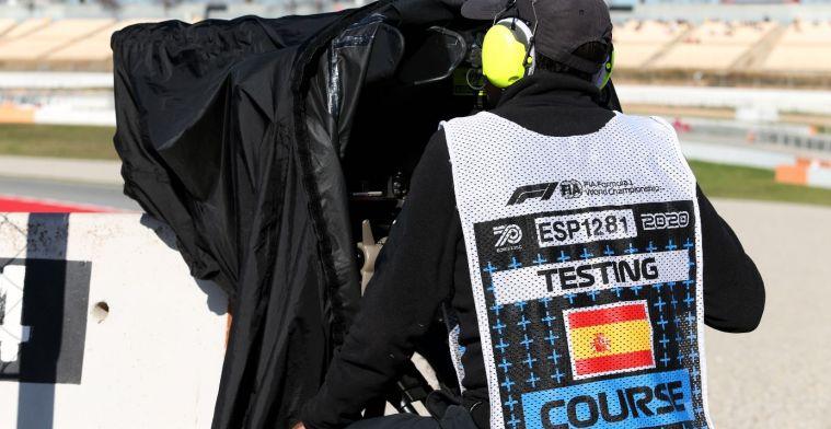 Formula 1 cancels contracts of camera staff